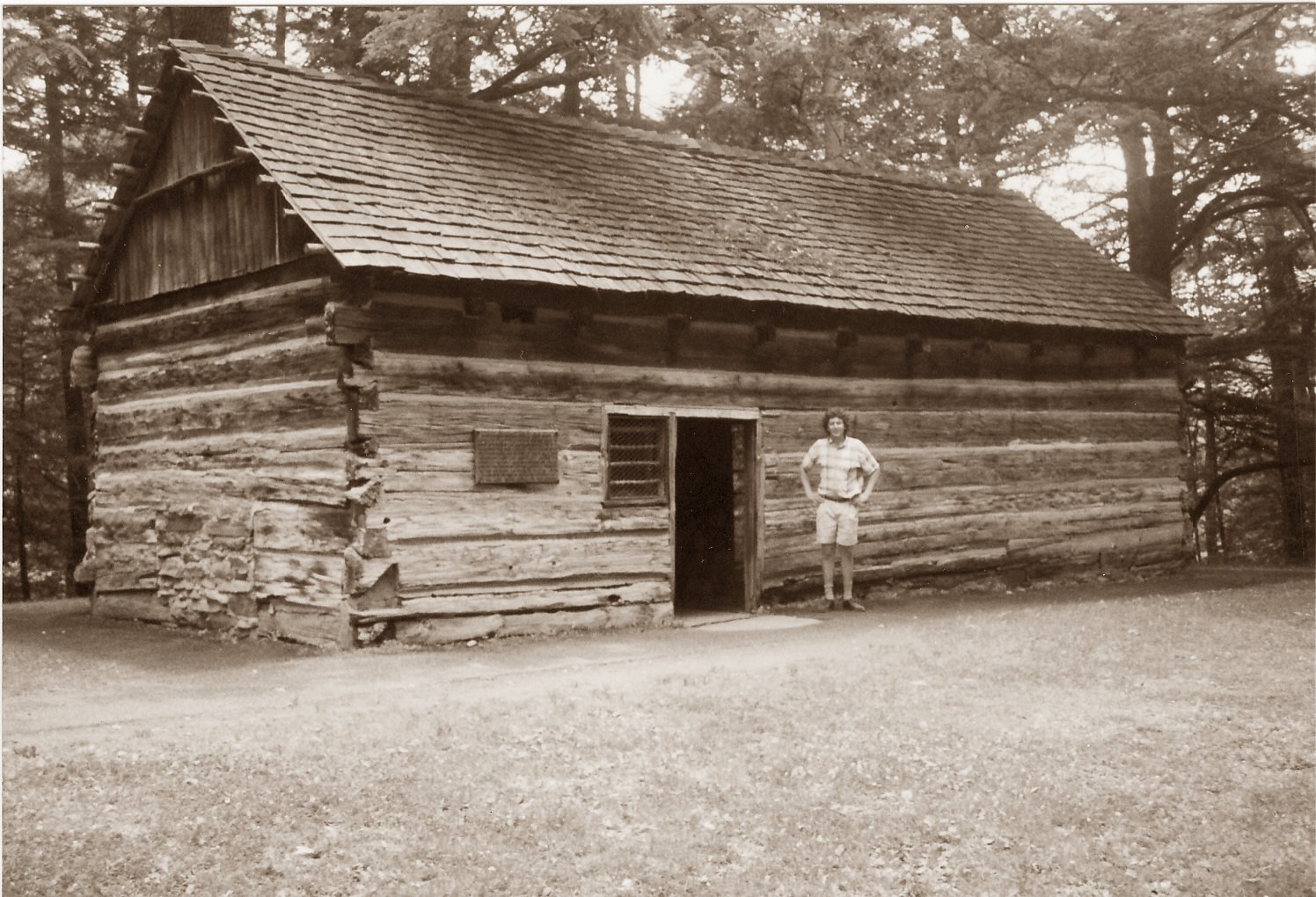 The times of barbara reilly carl grimsman for Cabins near letchworth state park