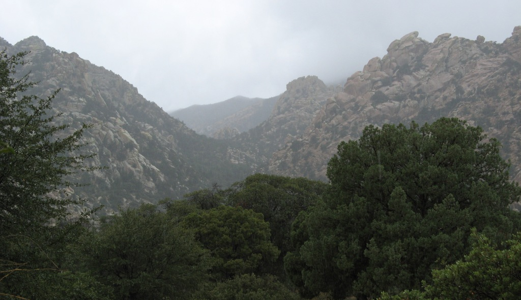 Cochise Stronghold Fog